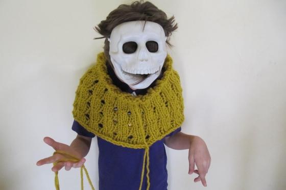 Halloween häkelmonster