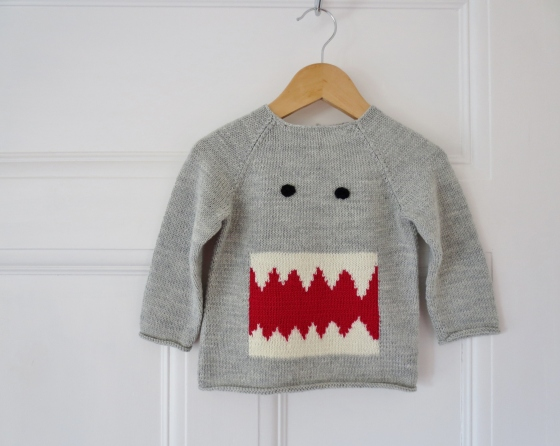 Monster Teeth Jumper häkelmonster