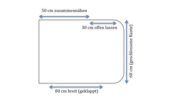 Anleitung Poncho Häkelmonster