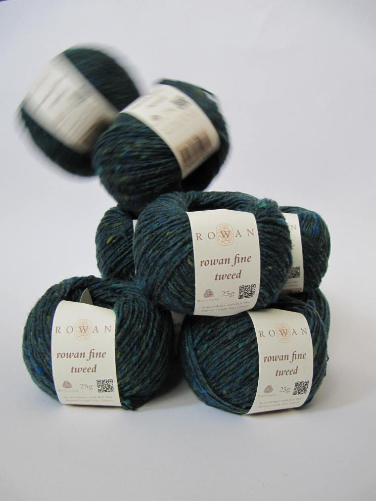Rowan Fine Tweed Häkelmonster