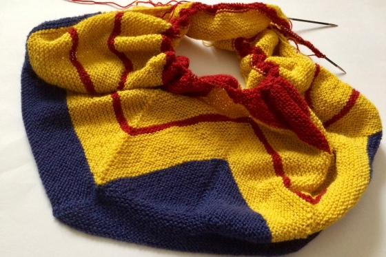 Wonder Woman Wrap Häkelmonster