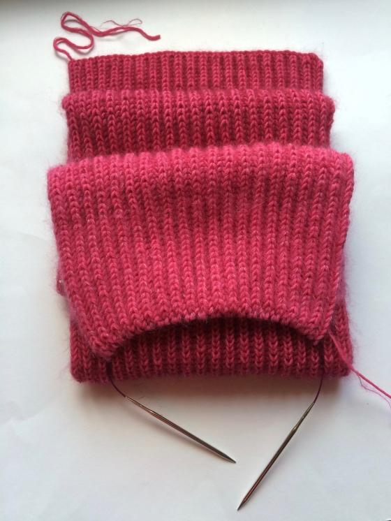 pink Loop Häkelmonster